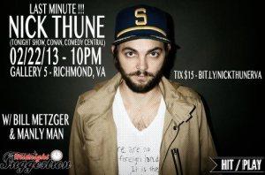Nick Thune Poster